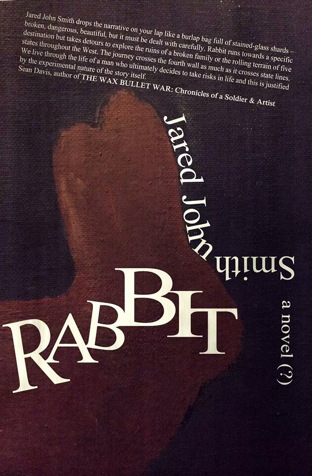 rabbit novel cover pink fish press book